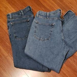 Men's Wrangler Jeans -34x29 - 2 pair